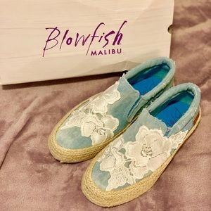 Blowfish Chambray Denim Sneaker